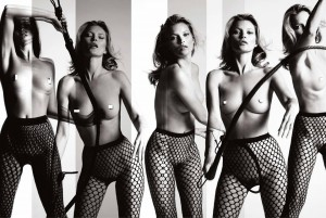 Kate Moss coniglietta (40 anni quasi) Playboy 1