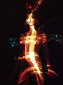 Kate Moss coniglietta (40 anni quasi) Playboy 2