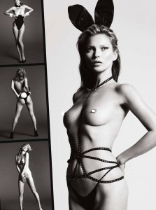 Kate Moss coniglietta (40 anni quasi) Playboy 5