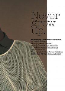 Never Grow Up. 2