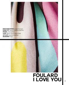 Foulard, I Love You 1