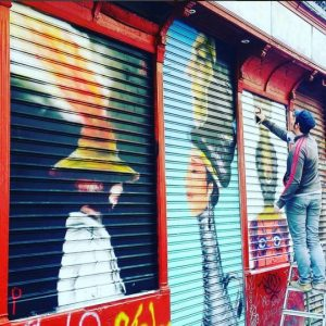 STREET ART A MADRID 5