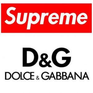 Supreme per Dolce e Gabbana 2