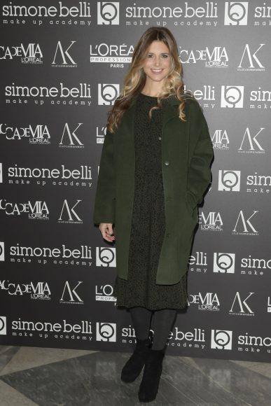 Roma. Simone Belli Christmas Beauty Day.Nella foto: Nicoletta Romanoff