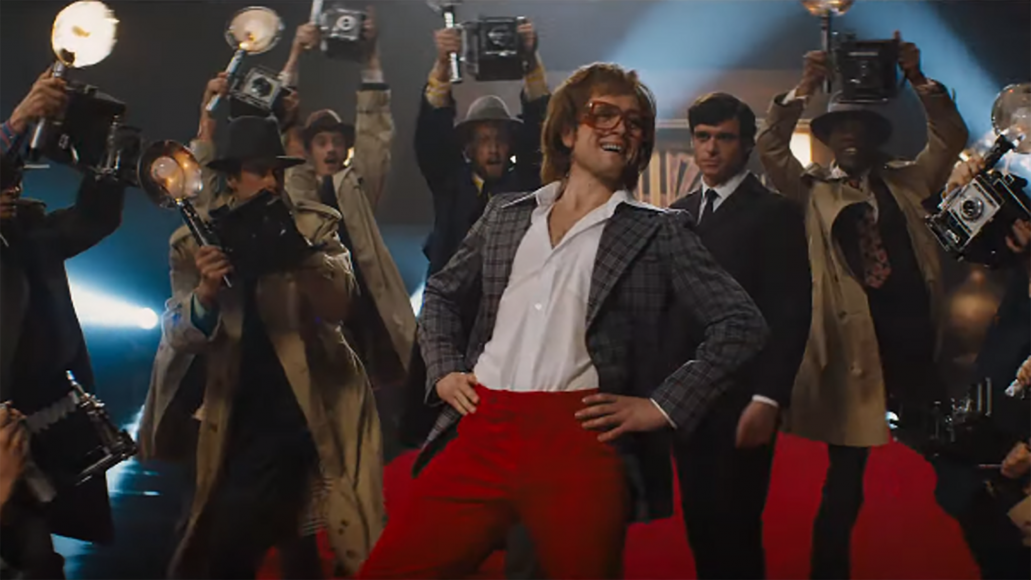 "Una scena del film ""Rocketman"""