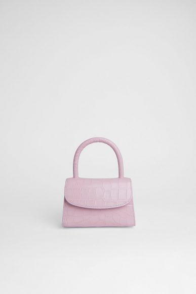 Mini Pink croco//MYFAR