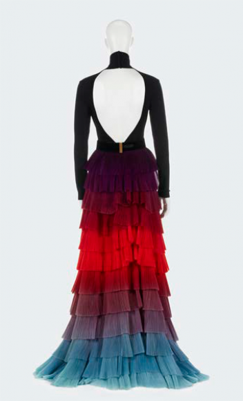 Givenchy par Clare Waight Keller, « Thaïs », body, jupe et ceinture portés par Cate Blanchett, Haute couture, printemps-été 2018
