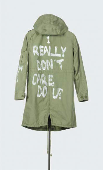 Zara, I really don't care, do u ?, Parka, Printemps-Eté 2016. Collection Blanche et Pauline Nouchi