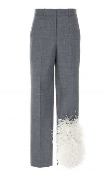 large_loewe-grey-feather-trim-wool-trousers