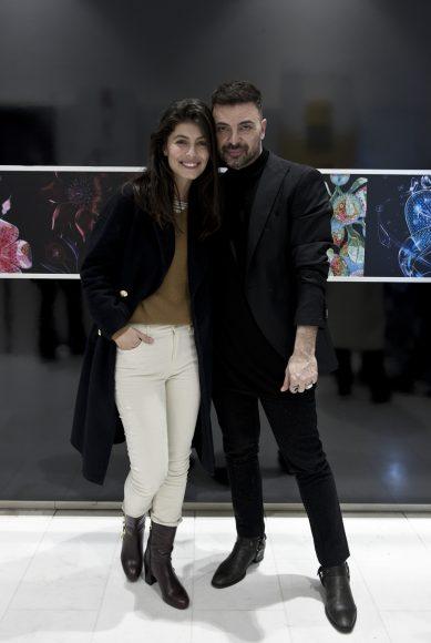 Alessandra Mastronardi  e Simone Belli