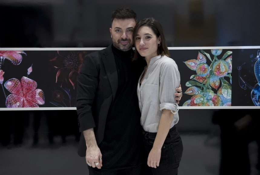 Angela Fontana e Simone Belli