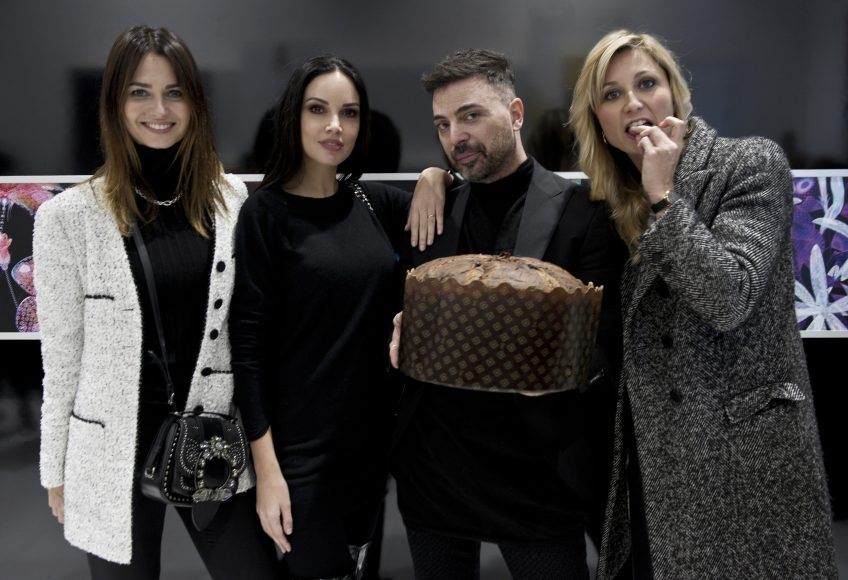 Anna Safroncik, Michela Quattrociocche, Simone Belli e Anna Ferzetti