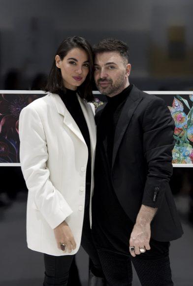 Francesca Chillemi e Simone Belli