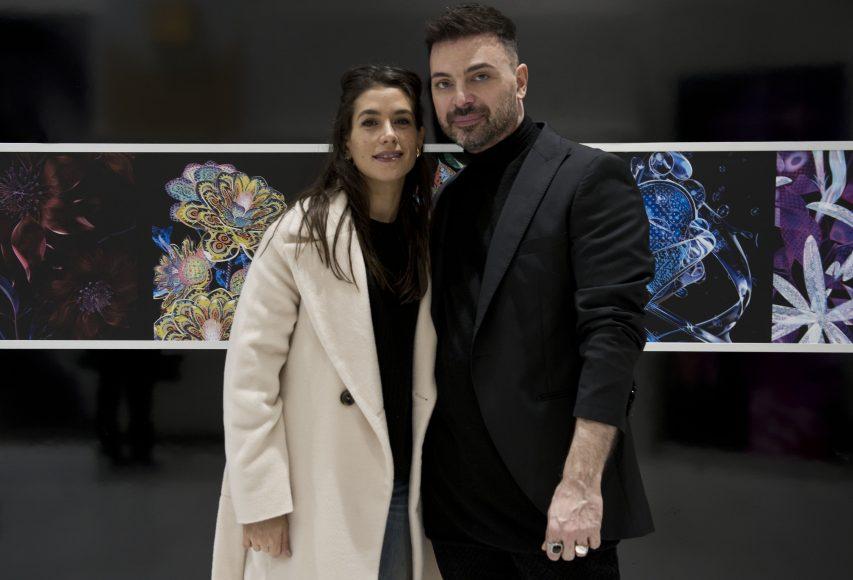 Giulia Michelini e Simone Belli