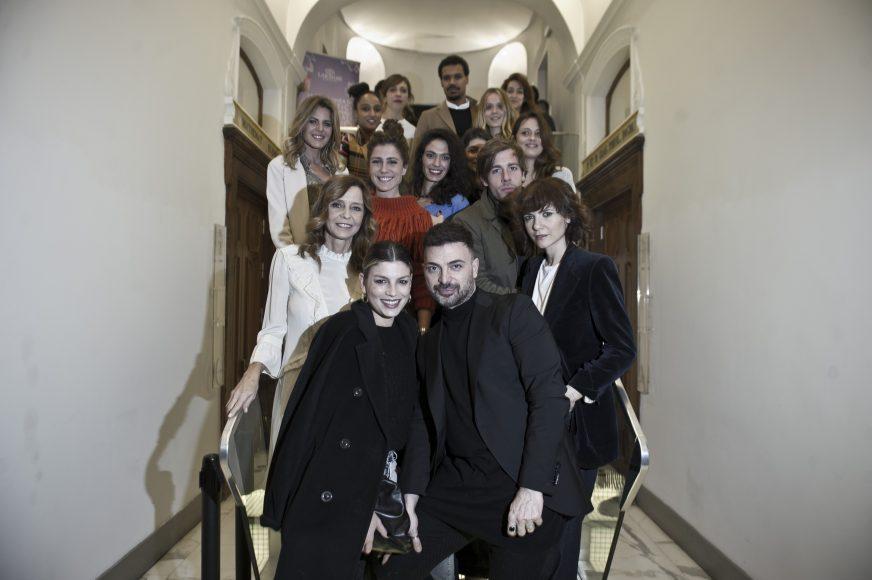 Emma, Simone Belli, Camilla Filippi, Eliana Miglio, Francesca Valtorta, Edoardo Purgatori, Esther Elisha e Elisabetta Pellini