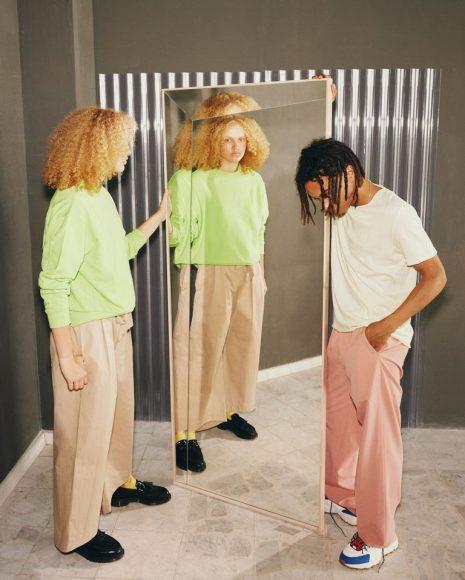 Specchio effetto 3D Virgil Abloh-Markerad