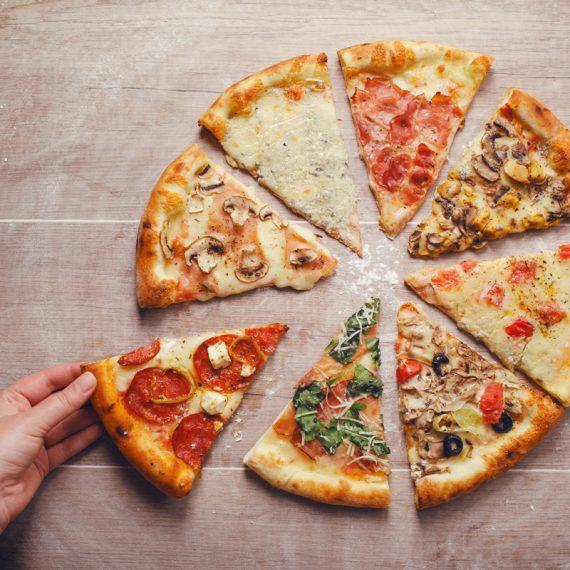 la pizza mette d'accordo tutti