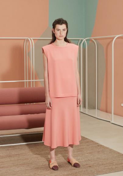 Luisa Bertoldo Pink Dress