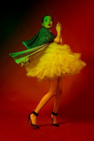 Earrings Radà Dress By Belfiore  Skirt By Fabiana Ferri  Shoes By Cesare Paciotti