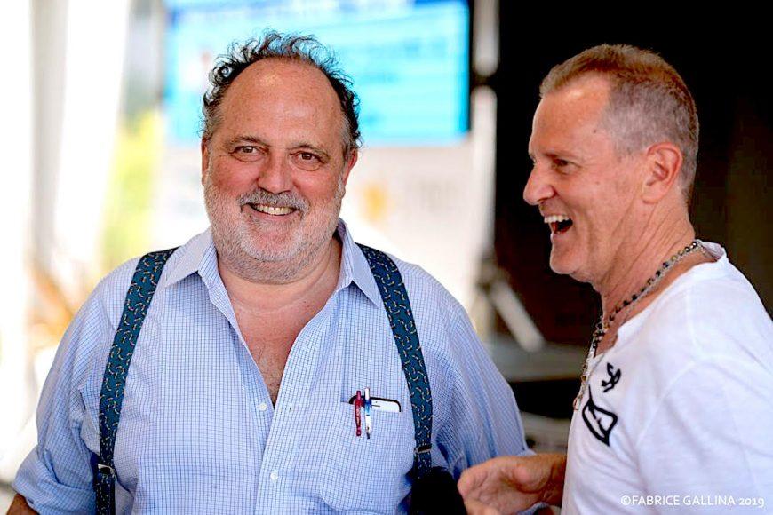 Paolo Marchi con Fabrizio Nonis