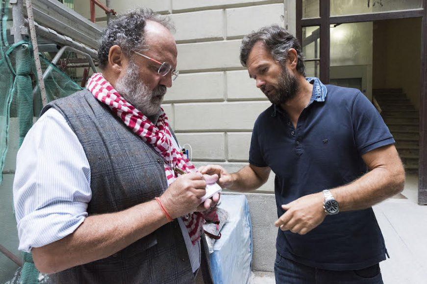 Paolo Marchi con Carlo Cracco