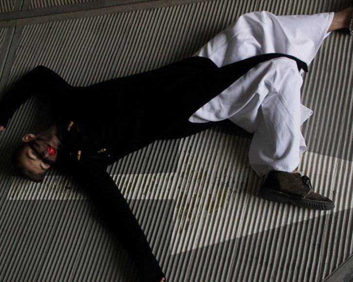 Pants -Maison Margiela Sweater - Isabel Benenato Shoes - Dolce & Gabbana Necklace - Stylist-s own