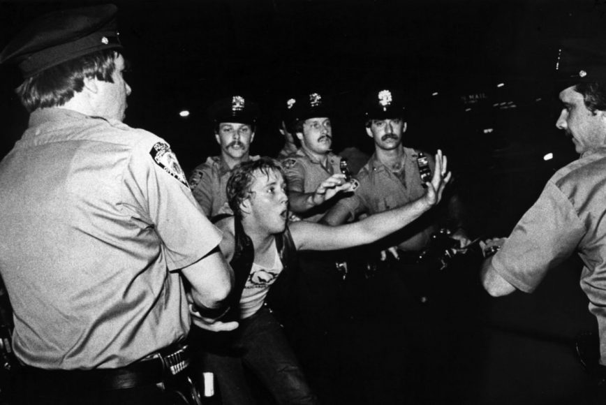 Le rivolte di Stonewall, 1969, New York, USA