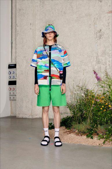 colorful Fashion ShowsPrimavera Estate 2021MSGM