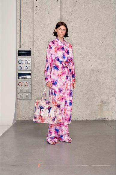 Floreal dress Fashion ShowsPrimavera Estate 2021MSGM