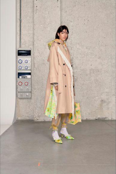 completo total look con impermeabile Fashion ShowsPrimavera Estate 2021MSGM