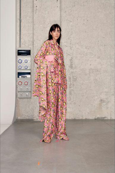 pigiama da giorno floreale Fashion ShowsPrimavera Estate 2021MSGM