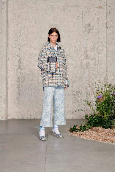 Elegant and Romantic outfit Fashion ShowsPrimavera Estate 2021MSGM