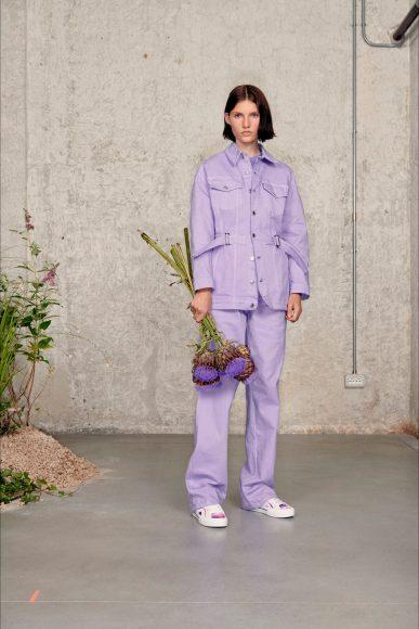 worker style Fashion ShowsPrimavera Estate 2021MSGM
