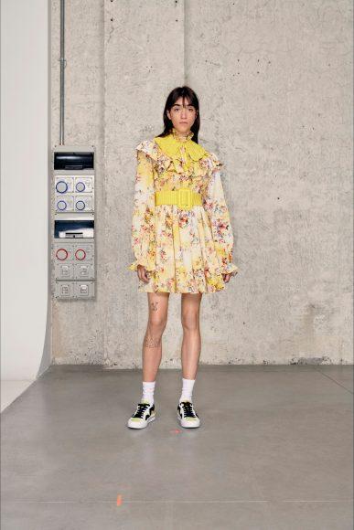 mini flowers dress Fashion ShowsPrimavera Estate 2021MSGM