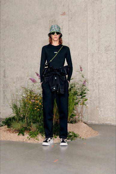 Worker style Fashion ShowsPrimavera Estate 2021MSGM  man