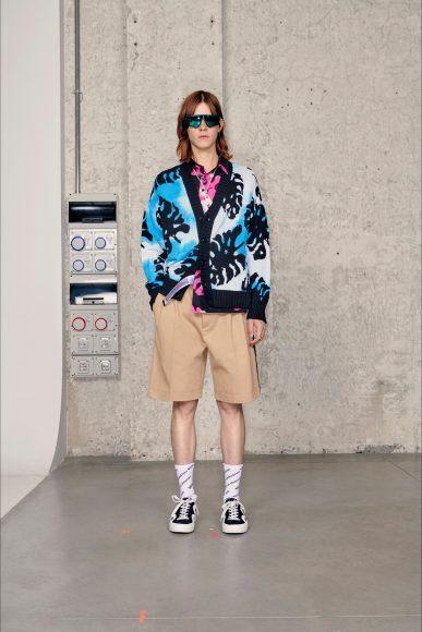 Look floreale Fashion ShowsPrimavera Estate 2021MSGM man