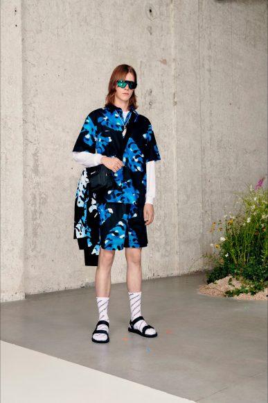 Total look Floreale Fashion ShowsPrimavera Estate 2021MSGM man