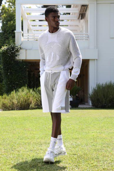 white outfit Iceberg_SS21_men