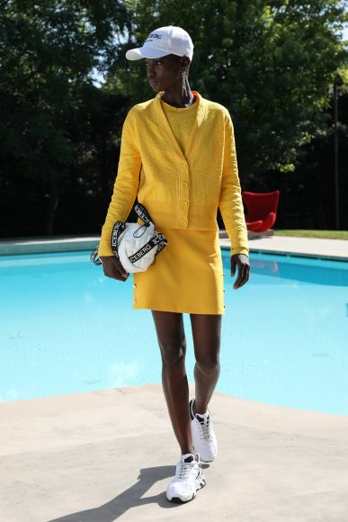 yellow dress Iceberg_SS21_Woman
