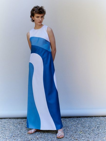 Mila Schön long dress S/S  2021.