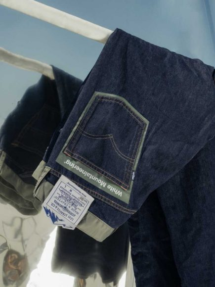 LEVI'S MADE AND CRAFTED x White Mountaineering  Etichetta