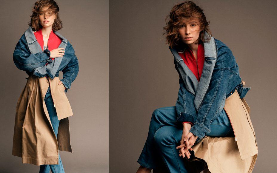 jacket : besfxxk  top wool : weer  pant : guess