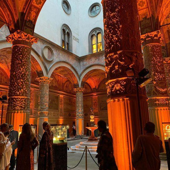 Evento D&G a Palazzo Vecchio