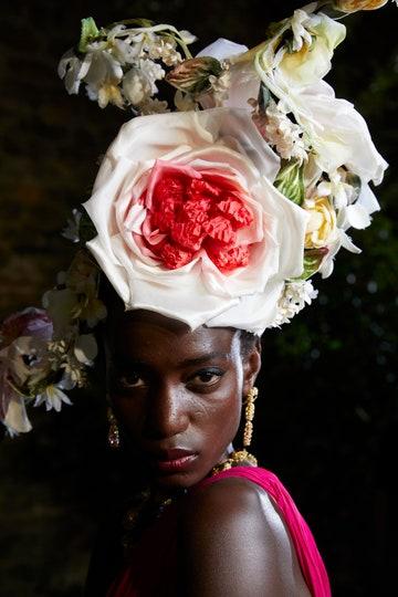 copricapo floreale dolce-gabbana-alta-moda-firenze