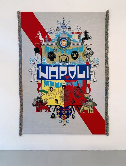 Arazzo, progetto di 75B 21st Century Heraldry