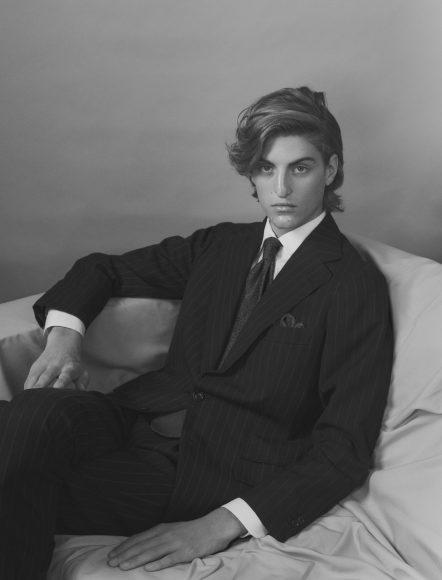 Suit & Shirt Jean-Manuel Moreau Tie Charvet