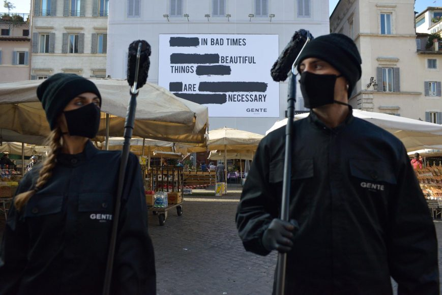 Gente_New Campaign_Campo de' Fiori Roma 2