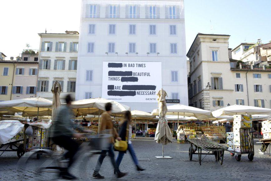 Gente_New Campaign_Campo de' Fiori Roma 3