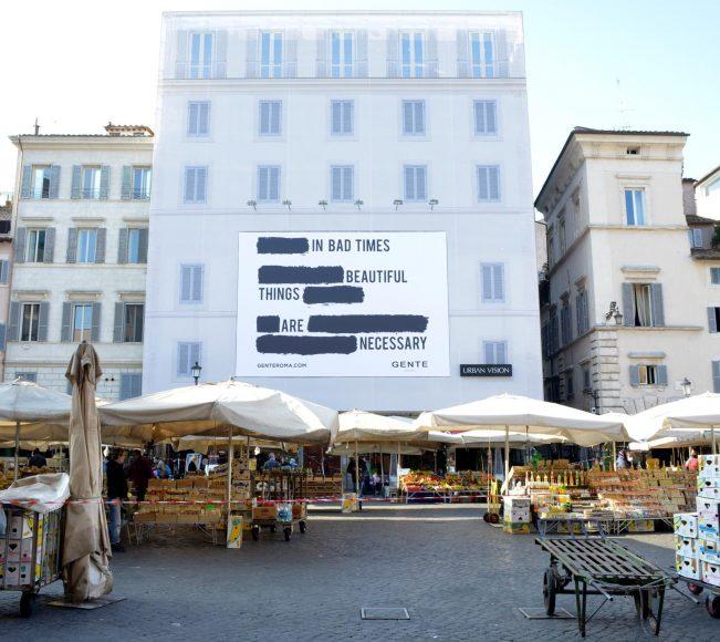 Gente_New Campaign_Campo de' Fiori Roma 4