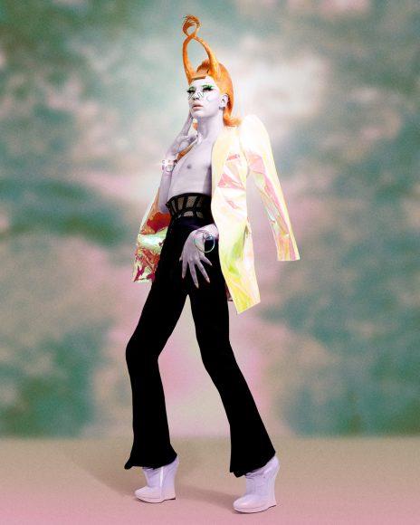 jacket : seyit ares corset : cadole trouser : dior shoes : vintage